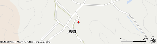 大分県佐伯市上岡398周辺の地図
