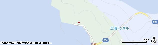 大分県佐伯市鶴見大字中越浦643周辺の地図