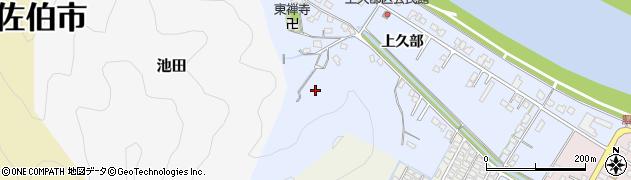 大分県佐伯市池田730周辺の地図