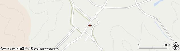 大分県佐伯市上岡393周辺の地図