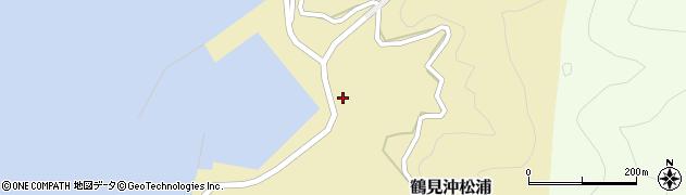 大分県佐伯市鶴見大字沖松浦1005周辺の地図