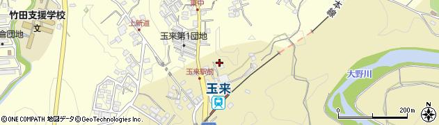 大分県竹田市吉田332周辺の地図