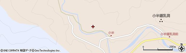 大分県佐伯市本匠大字小半1212周辺の地図