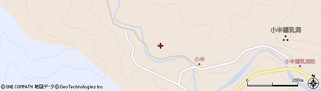 大分県佐伯市本匠大字小半1151周辺の地図