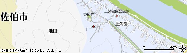 大分県佐伯市池田705周辺の地図