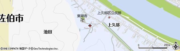 大分県佐伯市池田707周辺の地図
