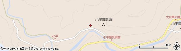 大分県佐伯市本匠大字小半1528周辺の地図