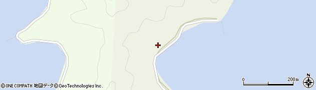 大分県佐伯市鶴見大字羽出浦220周辺の地図