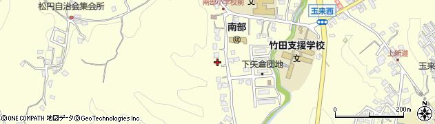 大分県竹田市君ケ園1105周辺の地図