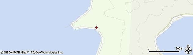 大分県佐伯市鶴見大字有明浦1530周辺の地図