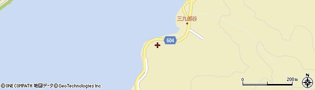 大分県佐伯市9716周辺の地図