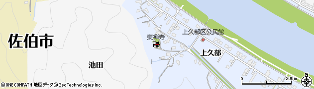 大分県佐伯市池田755周辺の地図