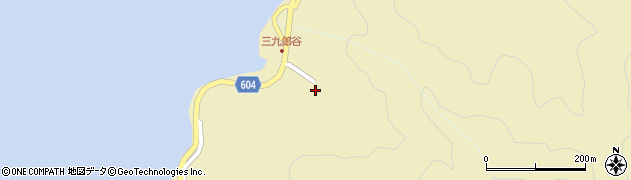 大分県佐伯市9678周辺の地図