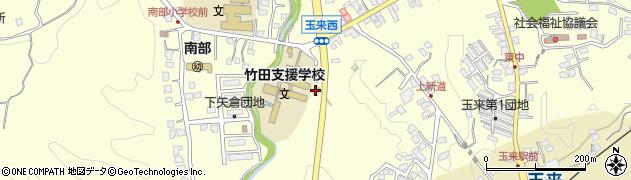 大分県竹田市玉来1053周辺の地図
