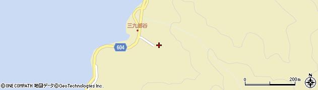 大分県佐伯市9660周辺の地図