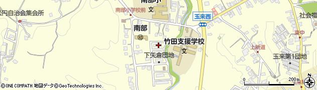 大分県竹田市君ケ園1181周辺の地図