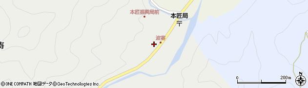 大分県佐伯市本匠大字波寄2719周辺の地図