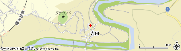 大分県竹田市吉田3010周辺の地図