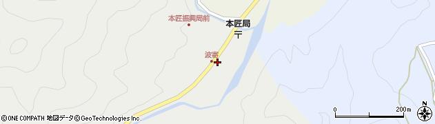 大分県佐伯市本匠大字波寄2651周辺の地図