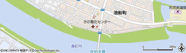 大分県佐伯市池船町23周辺の地図