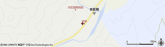 大分県佐伯市本匠大字波寄2716周辺の地図