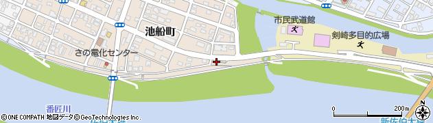大分県佐伯市池船町42周辺の地図