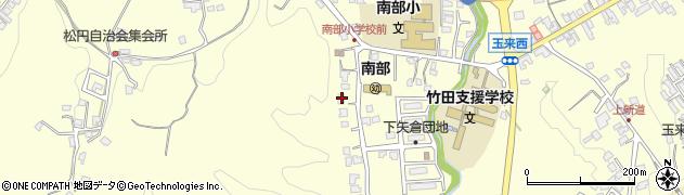 大分県竹田市君ケ園1085周辺の地図
