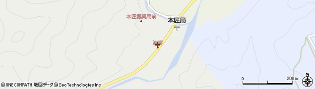 大分県佐伯市本匠大字波寄2654周辺の地図
