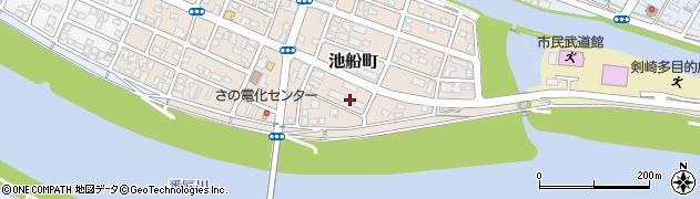 大分県佐伯市池船町15周辺の地図