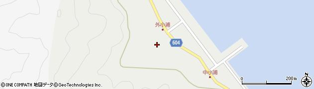 大分県佐伯市鶴見大字地松浦200周辺の地図
