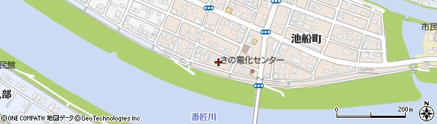 大分県佐伯市池船町24周辺の地図