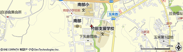 大分県竹田市君ケ園1165周辺の地図