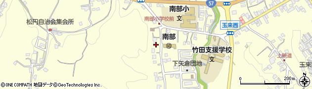 大分県竹田市君ケ園1081周辺の地図