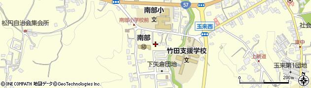 大分県竹田市君ケ園1164周辺の地図