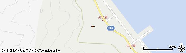 大分県佐伯市鶴見大字地松浦96周辺の地図