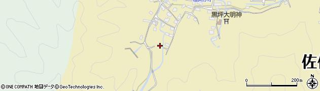 大分県佐伯市稲垣1226周辺の地図