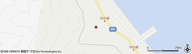 大分県佐伯市鶴見大字地松浦92周辺の地図