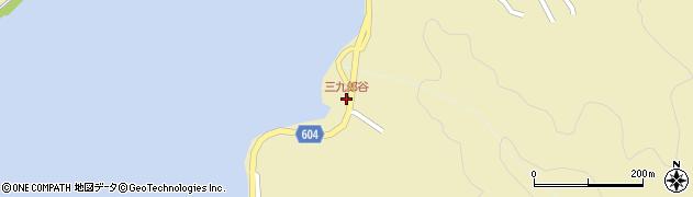 大分県佐伯市9645周辺の地図