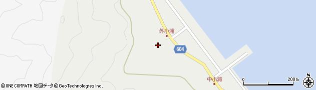 大分県佐伯市鶴見大字地松浦91周辺の地図