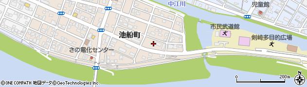 大分県佐伯市池船町6周辺の地図