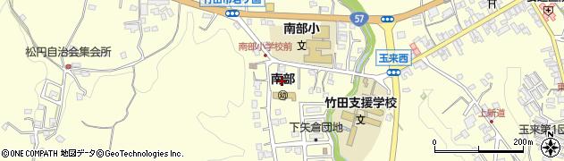 大分県竹田市君ケ園1159周辺の地図