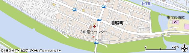 大分県佐伯市池船町22周辺の地図