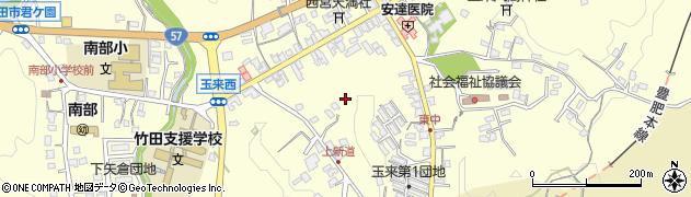 大分県竹田市玉来玉来西周辺の地図