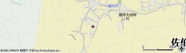 大分県佐伯市稲垣1235周辺の地図