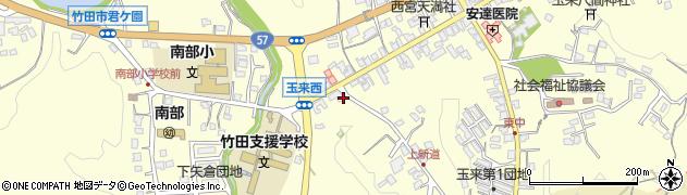 大分県竹田市玉来1036周辺の地図