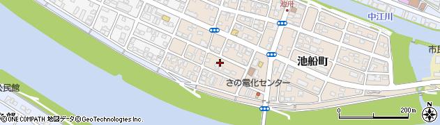 大分県佐伯市池船町25周辺の地図
