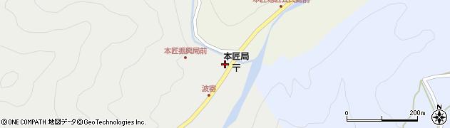 大分県佐伯市本匠大字波寄2673周辺の地図