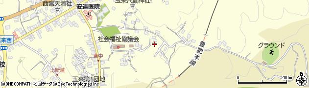 大分県竹田市玉来1390周辺の地図