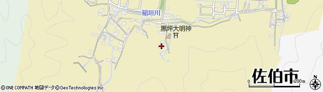 大分県佐伯市稲垣1318周辺の地図