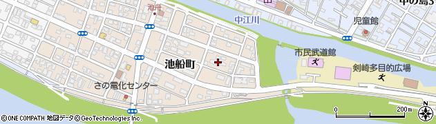 大分県佐伯市池船町7周辺の地図